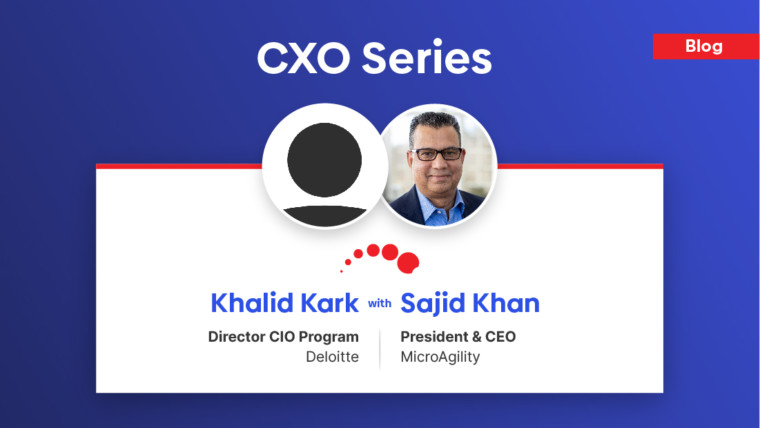 Khalid Kark, Director, CIO Program at Deloitte shares his perspective & insight regarding the roles of CIO's and challenges they are facing in technology industry.