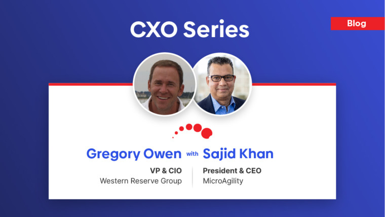 CXO Series – Gregory Owen, VP and CIO at Western Reserve Group shares his valuable insight regarding IT challenges and innovation trends in P&C insurance companies…