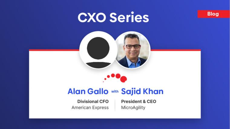 CXO Series – Alan Gallo, Divisional CFO at American Express, shares his insight…